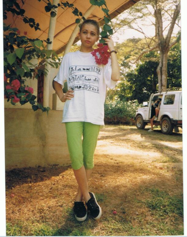 moi Cécile à Namakia